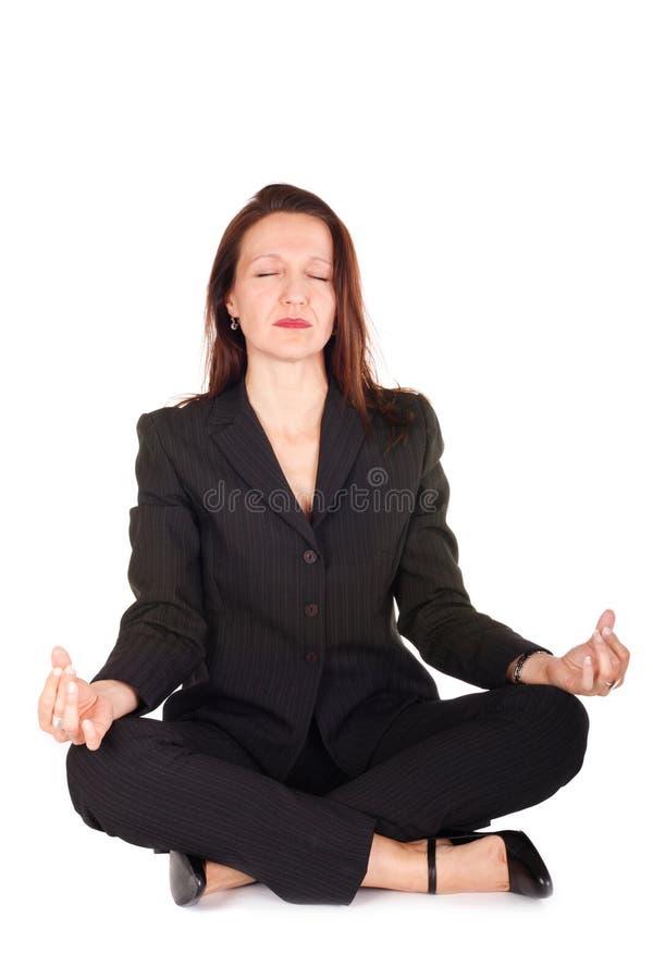 Negócio do zen foto de stock