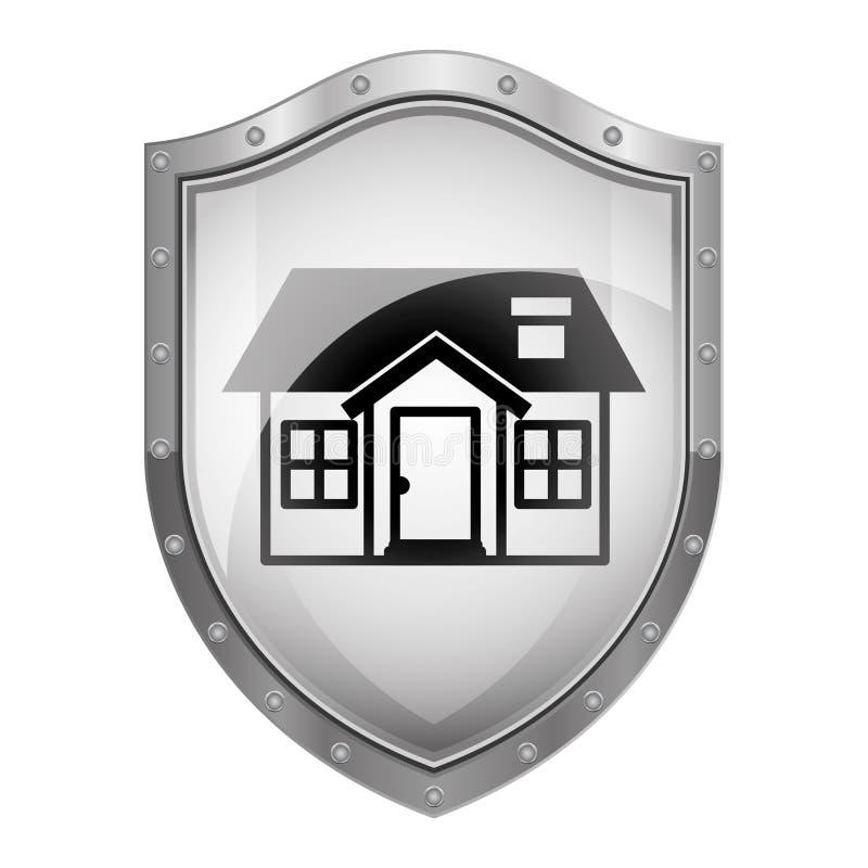 Negócio dos bens imobiliários ilustração royalty free