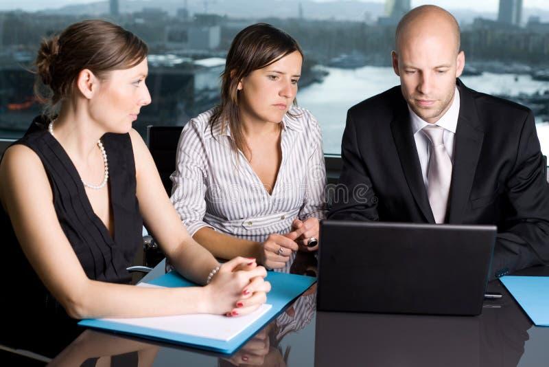 Negócio e oficina imagens de stock