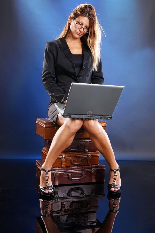Negócio em linha fotos de stock royalty free