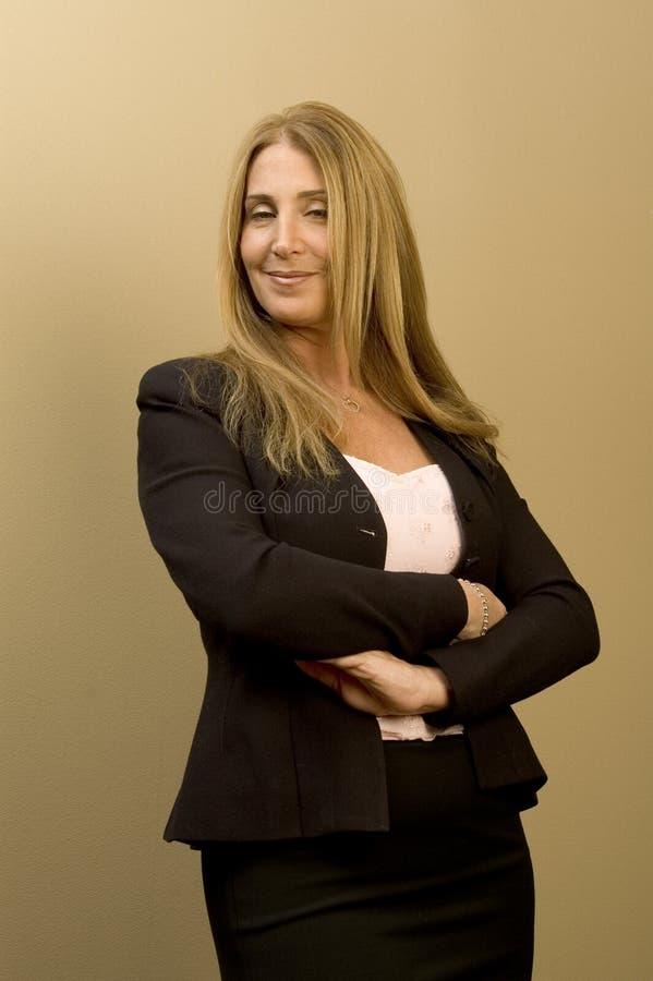Negócio executivo fêmea foto de stock royalty free