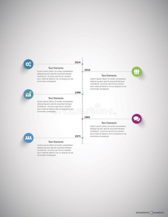 Negócio Infographic foto de stock royalty free