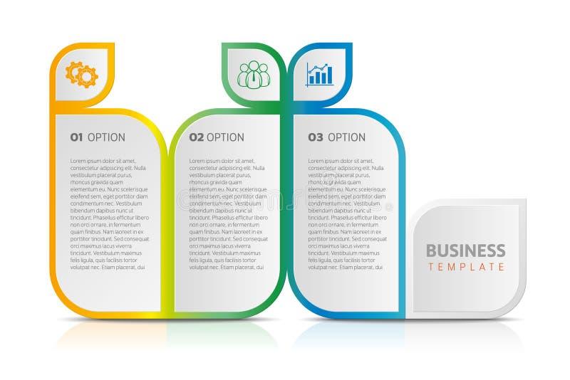 Negócio infographic, trabalhos, pesquisa, o espaço temporal, etiqueta, estratégia ilustração royalty free