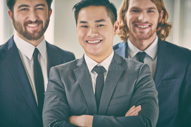 Negócio Leader foto de stock royalty free
