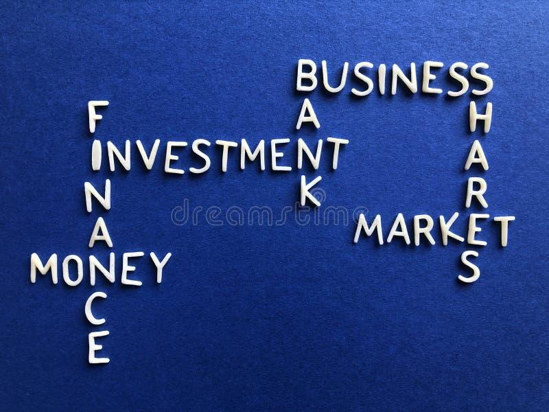 Negócio, operação bancária e finança, conceito criativo imagem de stock