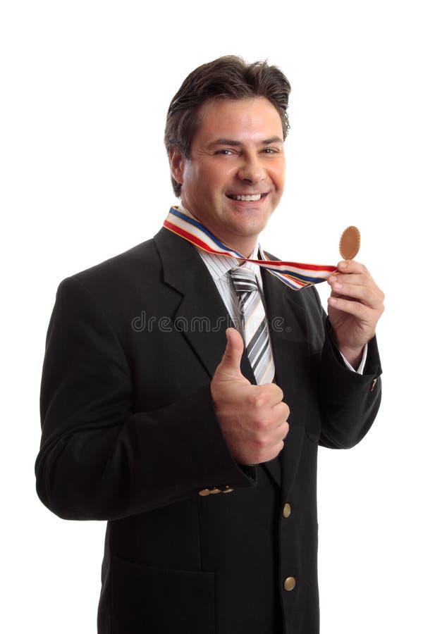 Negócio ou sucesso pessoal foto de stock