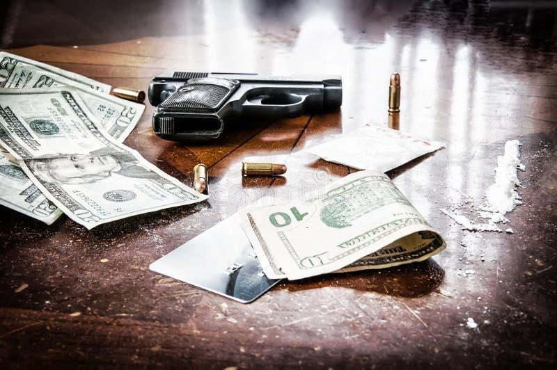 Negócio perigoso da droga imagem de stock royalty free