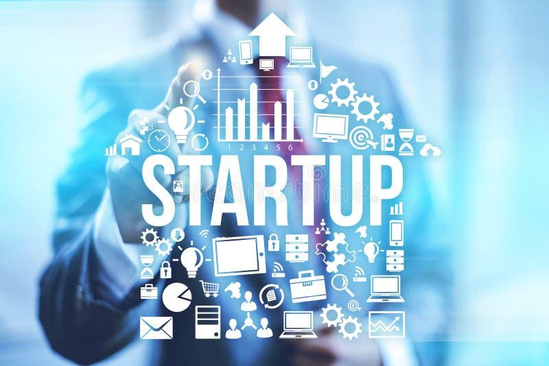 Negócio Start-up ilustração do vetor