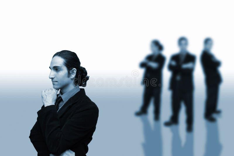 Negócio team-1 foto de stock