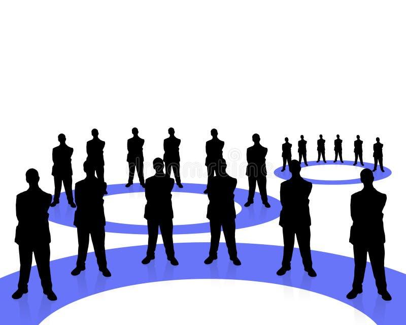 Negócio team-2 ilustração royalty free