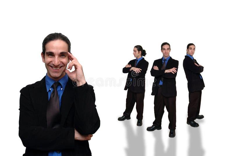 Negócio team-21 imagem de stock