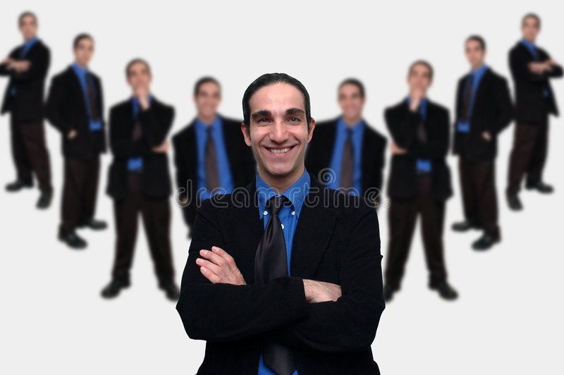 Negócio team-5 foto de stock royalty free