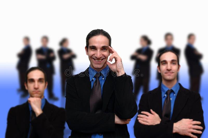 Negócio team-7 imagens de stock