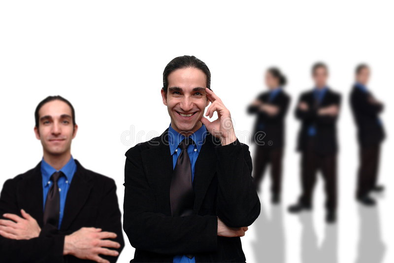 Negócio team-9 fotografia de stock