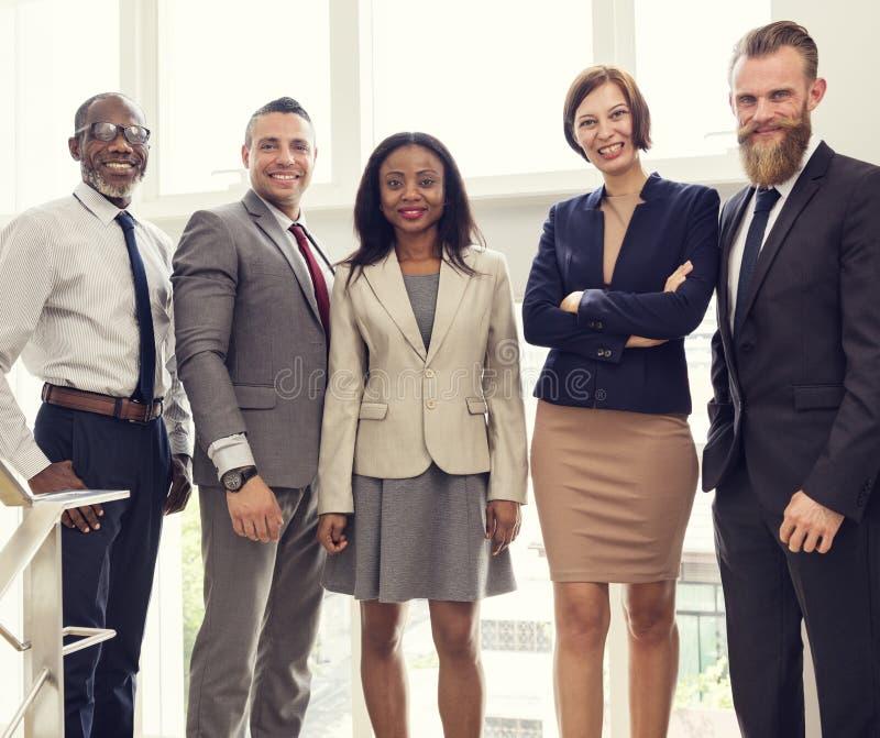 Negócio Team Office Worker Entrepreneur Concept foto de stock royalty free