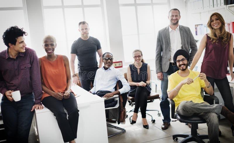 Negócio Team Professional Occupation Workplace Concept fotos de stock royalty free