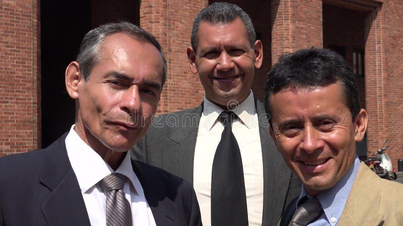 Negócio Team And Successful Men foto de stock royalty free