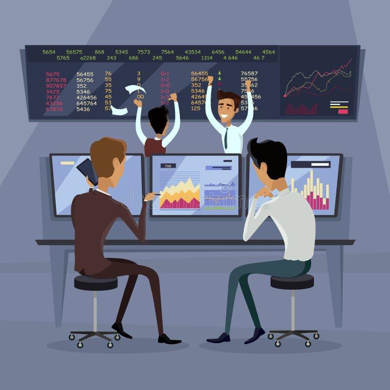 Negócio Team Work Success Concept Vetora ilustração royalty free