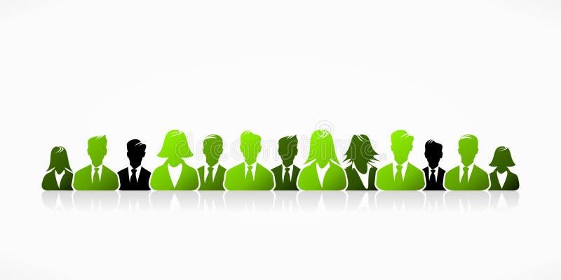 Negócio verde ilustração do vetor