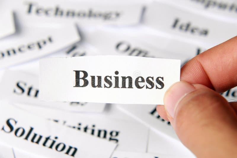 Negócios imagens de stock royalty free