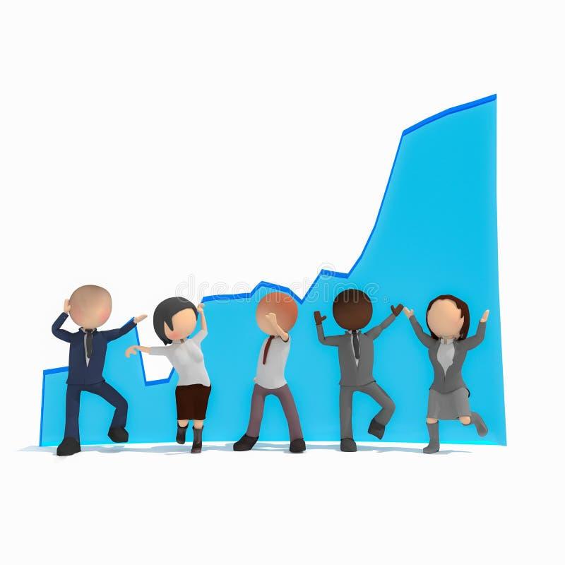 Negócios ilustração do vetor