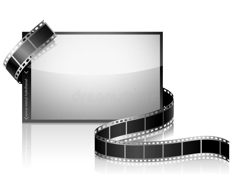 Negatieve film royalty-vrije illustratie