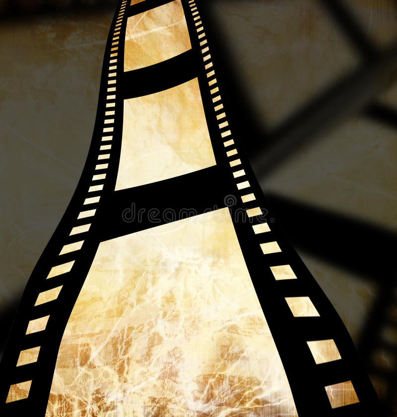 Negatieve filmstrook royalty-vrije illustratie