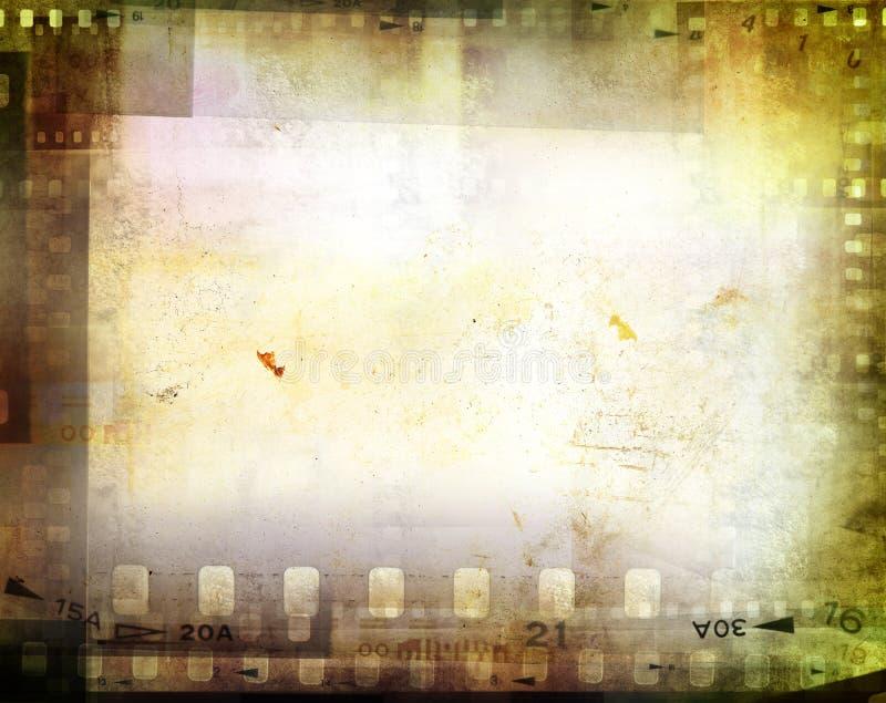 Negativas de película stock de ilustración