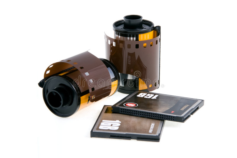 Download Negative and digital film. stock image. Image of flash - 787235