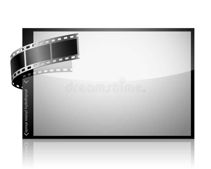 Negative Film Stock Image