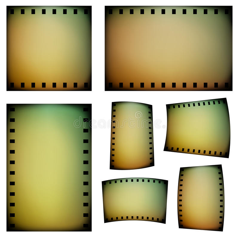 Negative film vector illustration