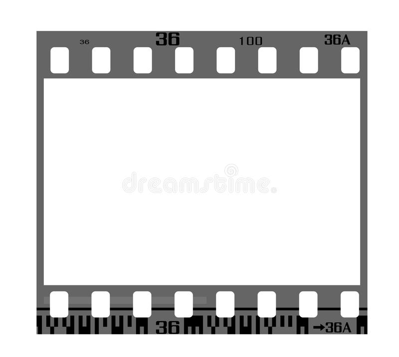 Download Negative film frame stock vector. Image of images, design - 14033771