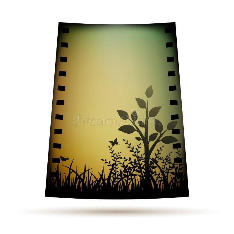 Download Negative Film With Landscare Stock Vector - Image: 27177714