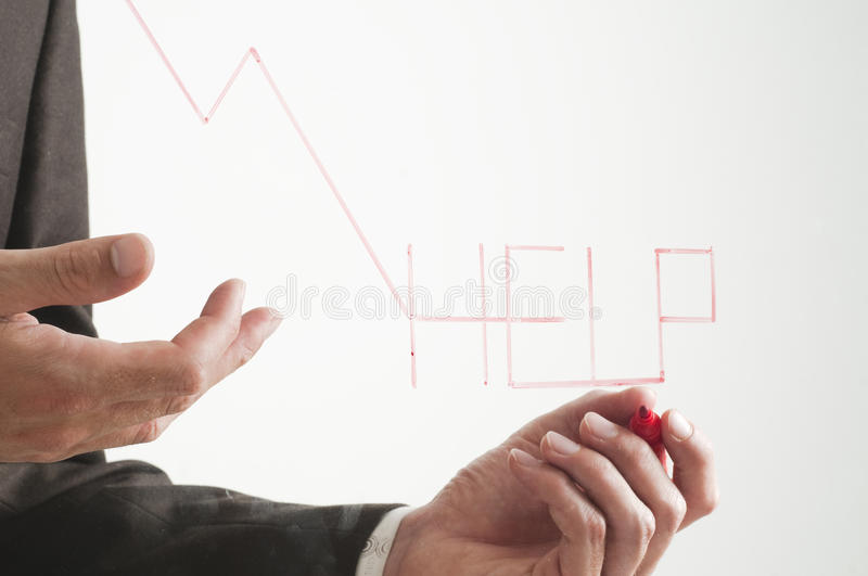 Download Negative graph stock image. Image of concept, failure - 12948041
