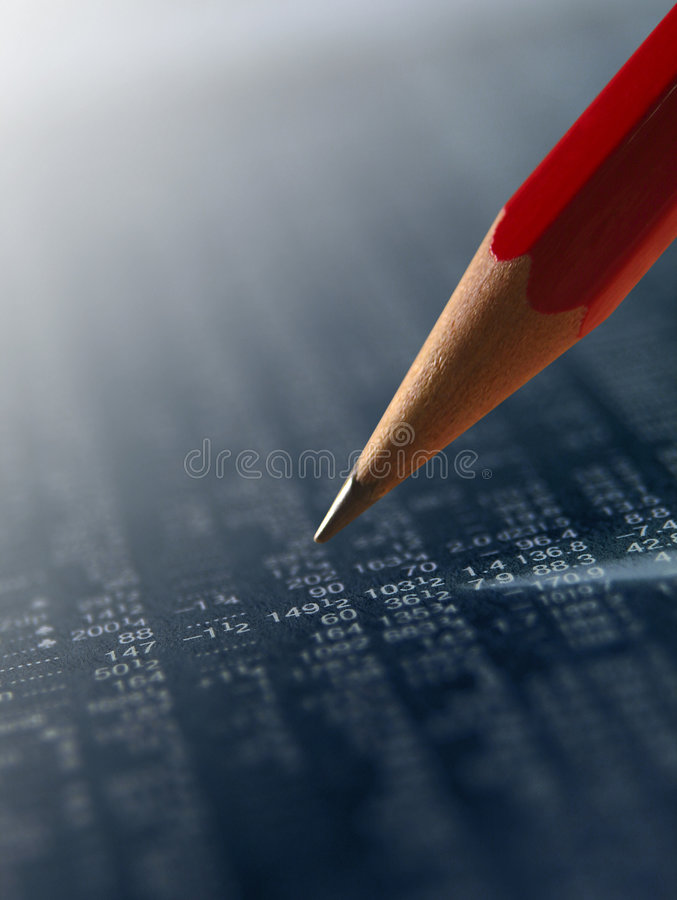 Download Negative investments stock photo. Image of selection, lead - 4269728