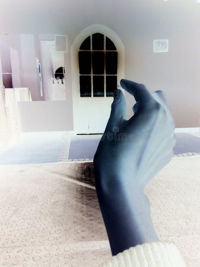 Negative Tür stockbilder