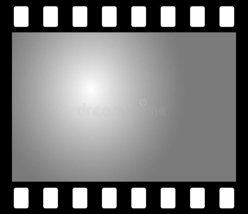 Negativer Fotofilm stock abbildung