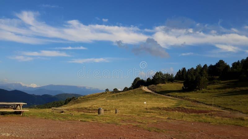 Negativi per la stampa di cartamoneta Pirineos, d'Aran di Vall fotografia stock libera da diritti