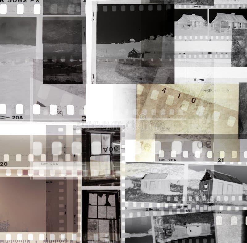 Negazioni di pellicola immagine stock