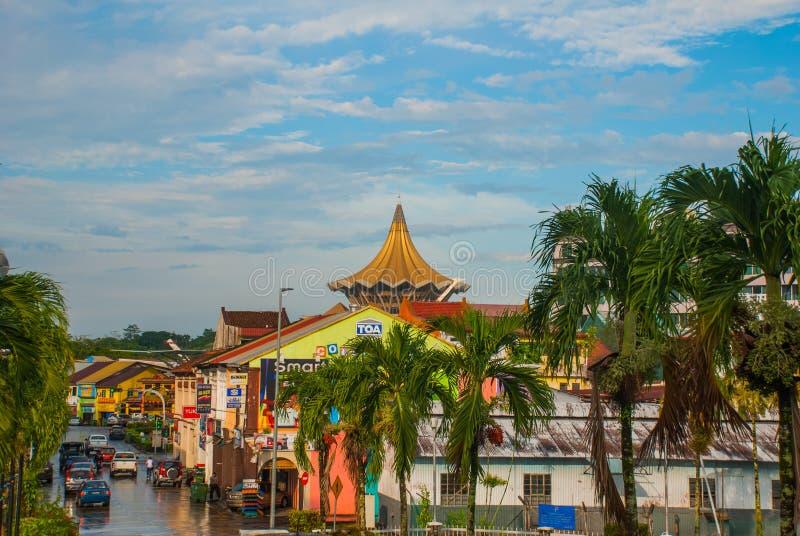 Negeri Саравак Dewan undangan Законодательная ассамблея положения Саравака в Kuching, Сараваке, Малайзии стоковые фото