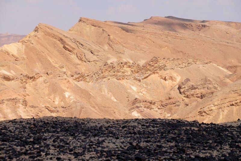 Negev desert scenic landscape. royalty free stock photo