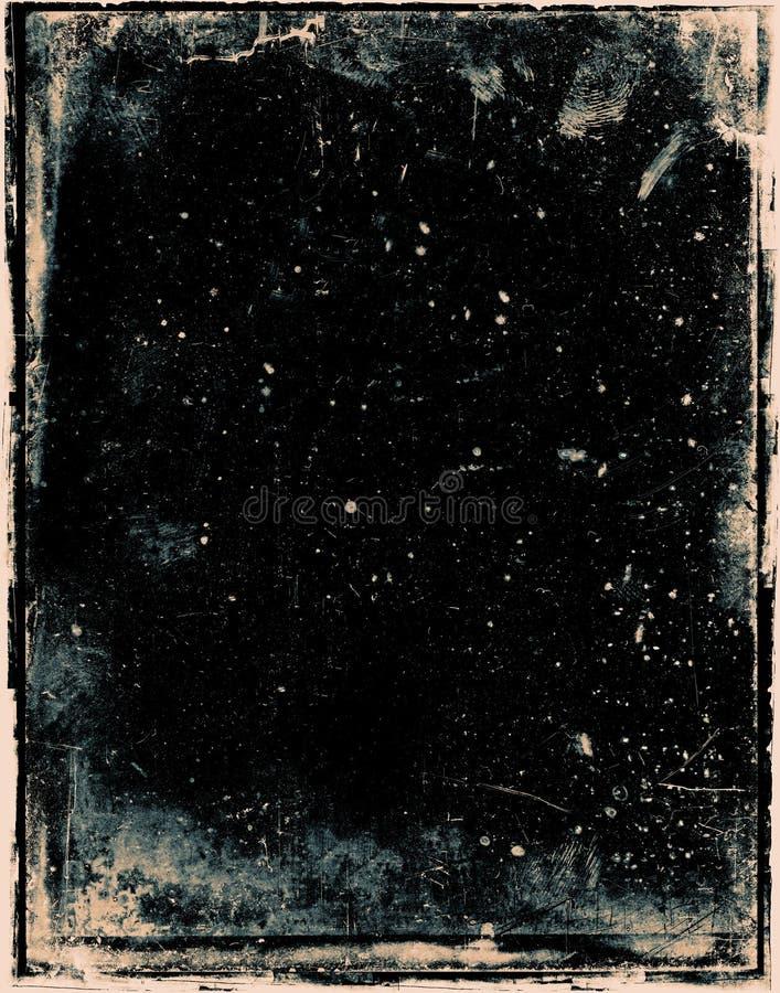 Negitive grunge Hintergrund lizenzfreie abbildung
