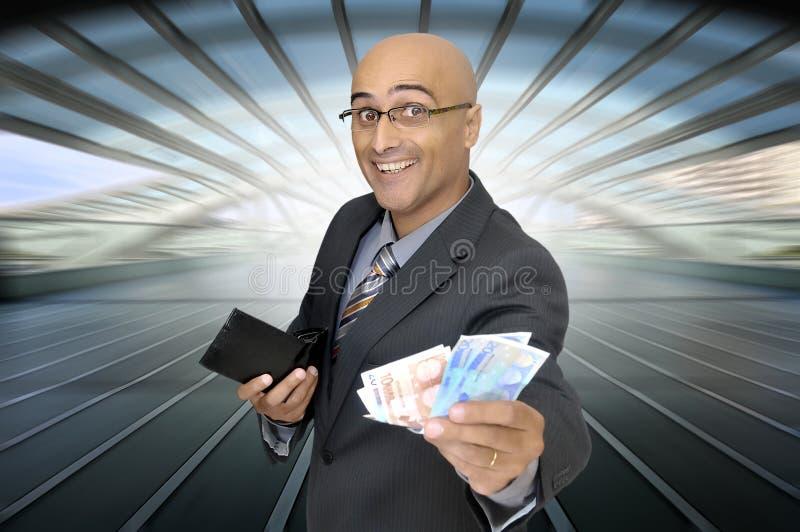 Negociações do dinheiro imagens de stock
