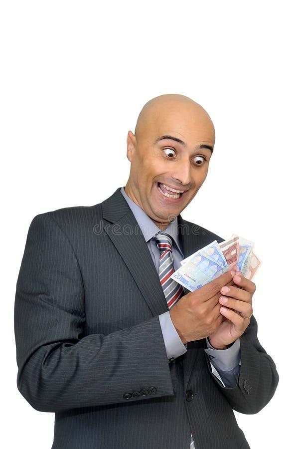 Negociações do dinheiro foto de stock