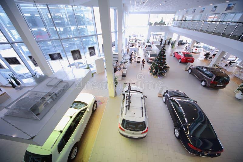 Negociante de Volkswagen dos locais de escritório fotos de stock royalty free