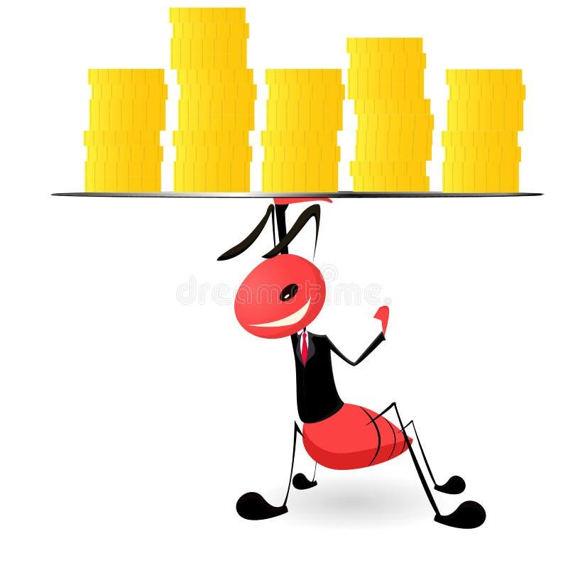Negocio de la hormiga libre illustration