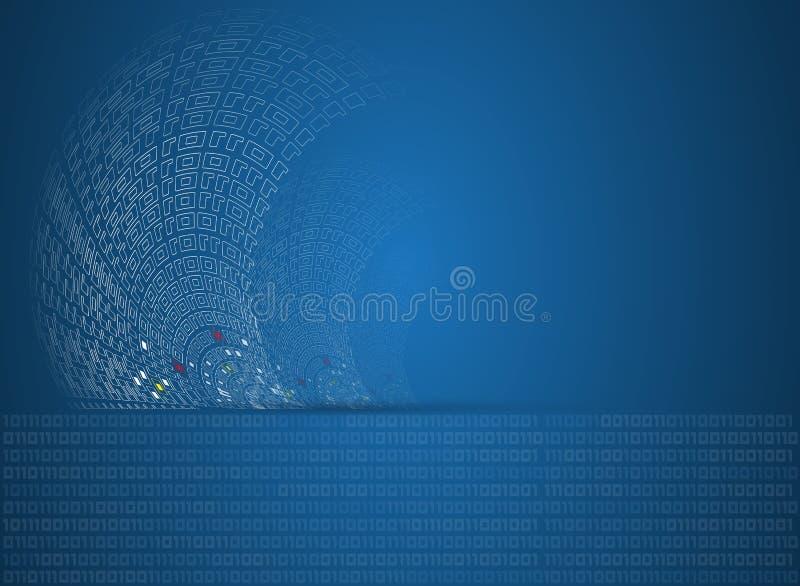 Negocio de la informática de Internet futurista de la ciencia alto fotos de archivo libres de regalías