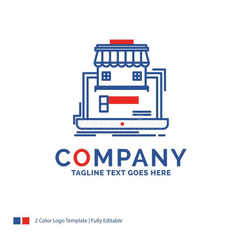 Negocio de Logo Design For del nombre de compañía, mercado, organización ilustración del vector