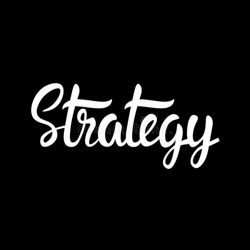 Negocio de planificación del desarrollo de la estrategia de marketing que se inspira Infographic ilustración del vector