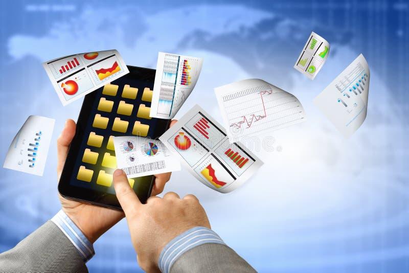 Comercio electrónico del negocio imágenes de archivo libres de regalías
